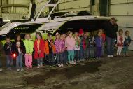 MORRISONVILLE SCHOOL KIDS TOURING THE STORE