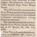 CSI Award Article