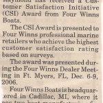 CSI Award Article