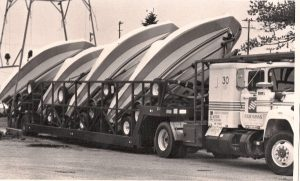 Our 1st truckload of Four Winns in 1991