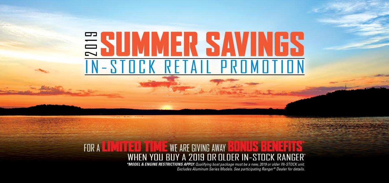 2019 Ranger Summer Savings