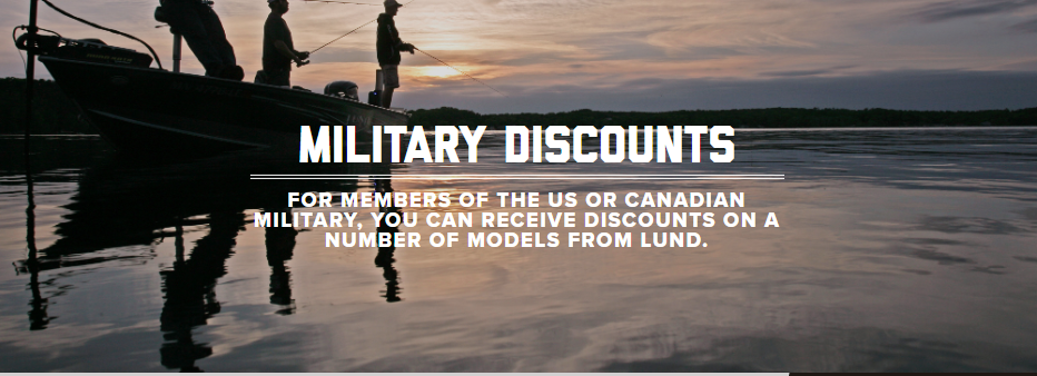 Lund Military Discounts
