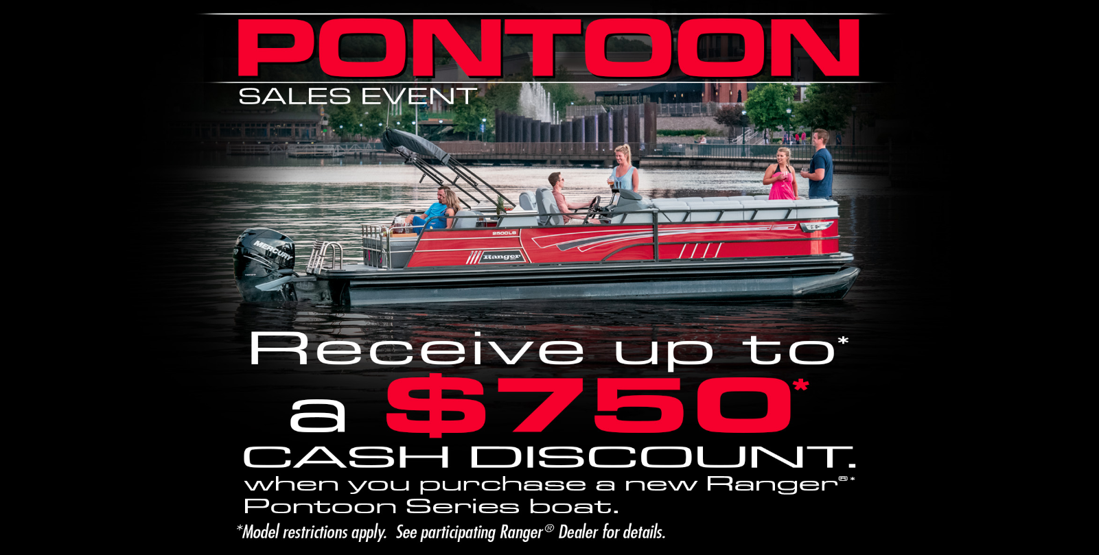 Ranger Pontoon Sales Event 2020